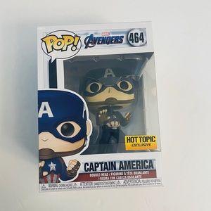 Funko Pop Captain America Marvel Avengers Endgame